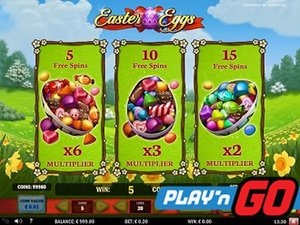 Play N Go Easter Promos