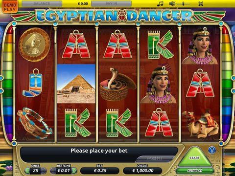 Egyptian Dancer Game Preview