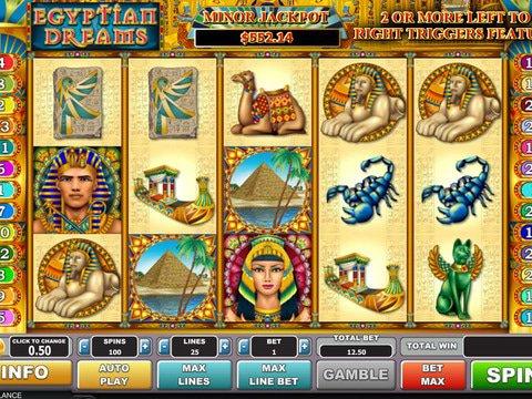 Egyptian dreams slots free roulette de porte coulissante alu