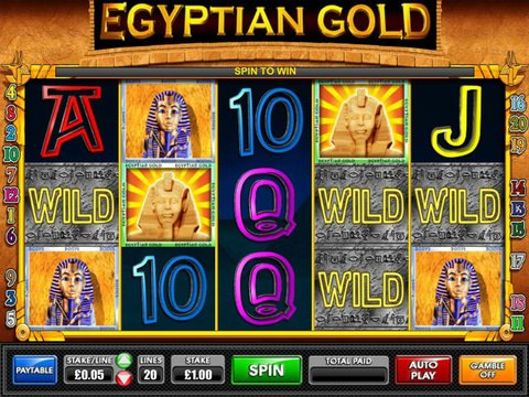 Egyptian Gold Slot Machine Game Free Online