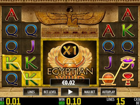Egyptian Wild HD Game Preview