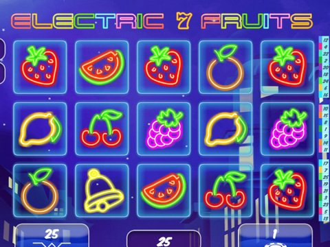 Electric7Fruits Game Preview