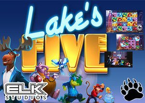 New Lake's Five slot available at Elk Studios powered casinos