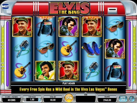 Elvis The King Game Preview