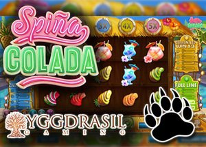 new spina colada slot yggdrasil casinos