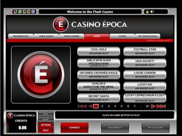 Epoca Casino Software Preview