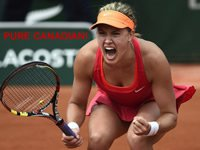Eugenie Bouchard First Canadian In Wimbledon Championship