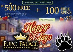 Get fantastic Euro Palace free Spins