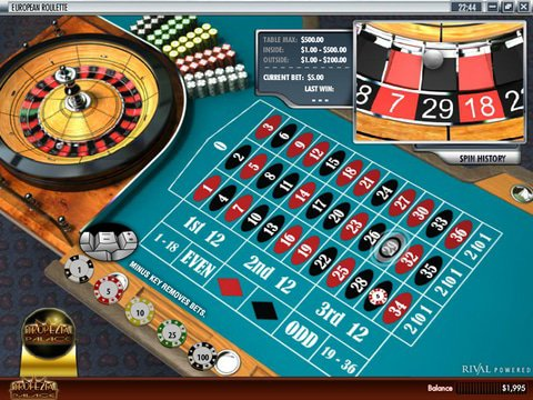European Roulette Game Preview