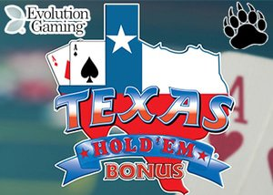 Evolution gaming Casinos Live Texas Hold'em Bonus Poker