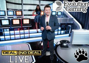 Evolution Gaming New Deal or No Deal Live Game
