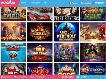 Evolve Casino Software Preview