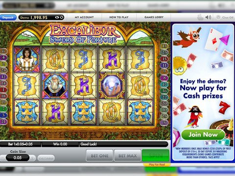 Excalibur Sword of Fortune Game Preview