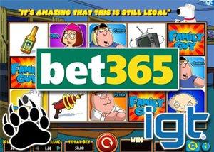New Family Guy Online Slot at Bet 365