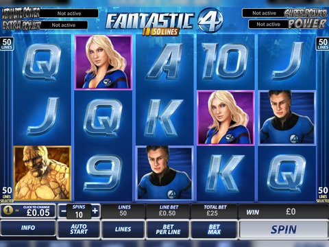 Fantastic Four 50 Lines Game Preview