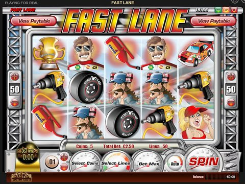 Play Fast Lane Slot Machine Free with No Download