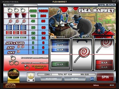 Flea Market Game Preview