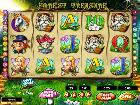 Forest Treasure Game Preview