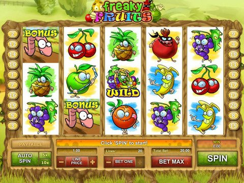 Freaky Fruits Game Preview