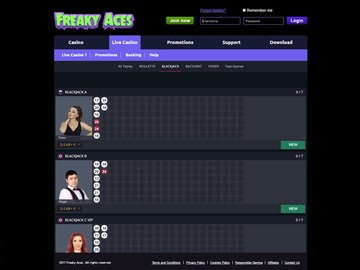 FreakyAces Software Preview