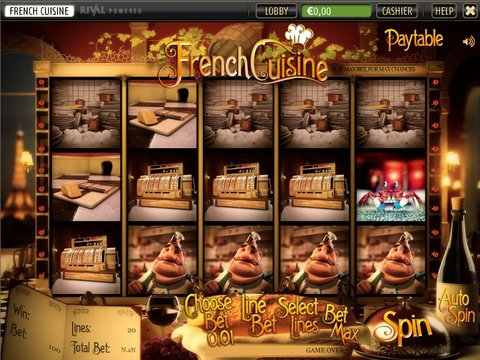 French Cuisine Game Preview