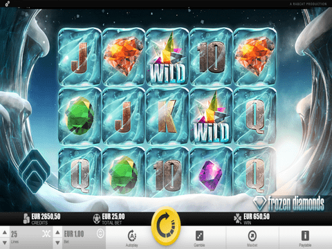 Frozen Diamonds Free Play Slot Slot Machine