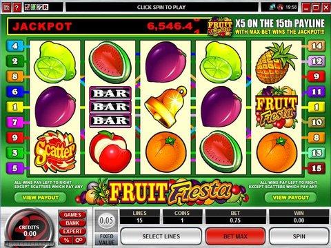 Fruit Fiesta 5 Reel Game Preview