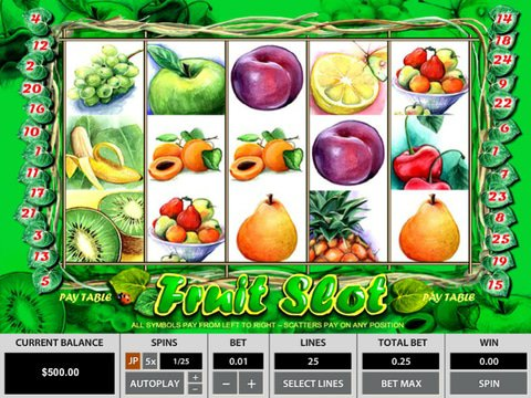 Fruit Slot Game Preview