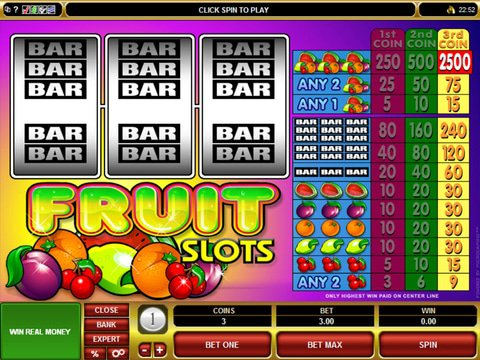 Fruit Slots Game Preview