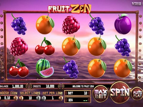 Play No Download Fruit Zen Slot Machine Free Here