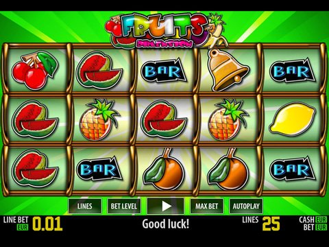 Play Fruits Dimension slot machine free with no regstration