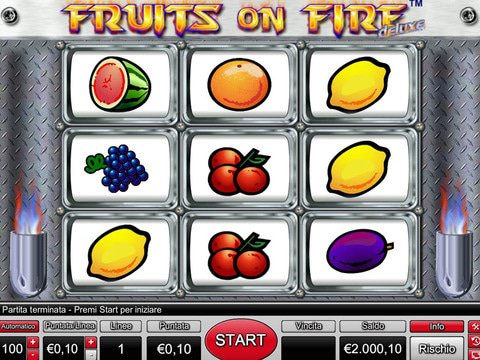Fruits on Fire Game Preview
