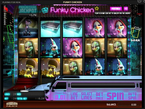 Funky Chicken Game Preview