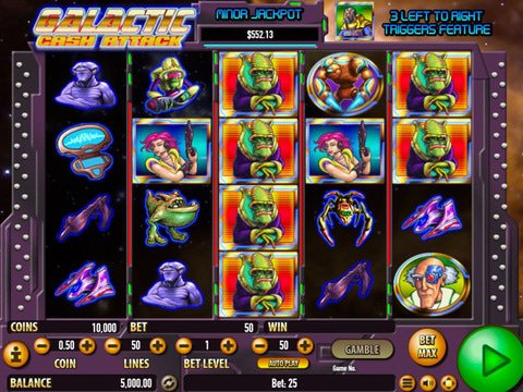 Galactic Cash Attack Game Preview