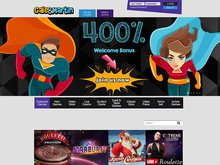 Gale&Martin Casino Homepage Preview