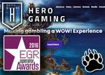 hero gaming win rising star award for gamification casino