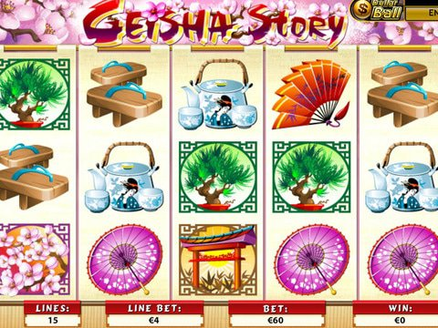 Geisha Story Game Preview