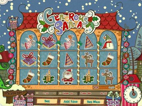 Generous Santa Game Preview