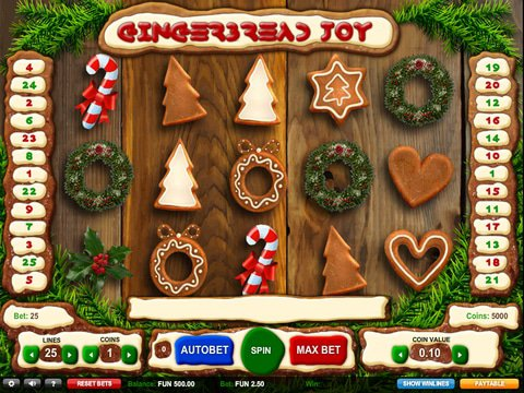 Gingerbread Joy Game Preview