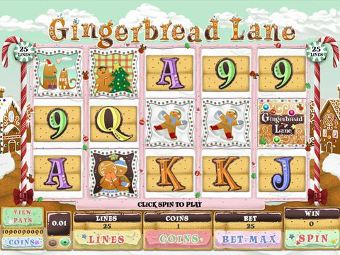 Gingerbread Lane Game Preview