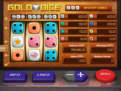 Gold Dice Game Preview