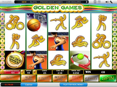 Golden Games Game Preview