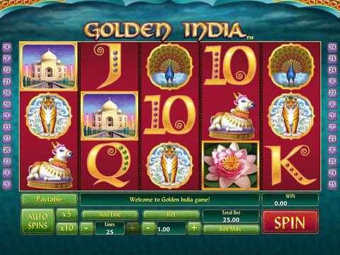 Golden India Slots Game Preview