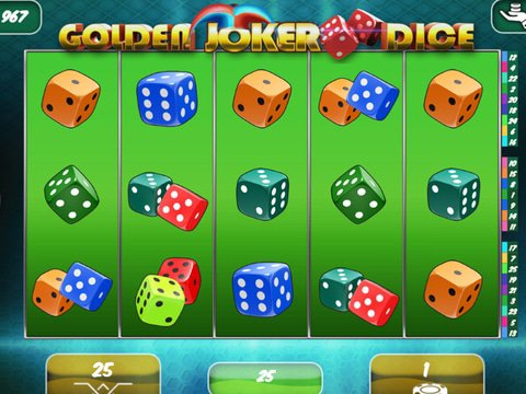 Golden Joker Dice Game Preview