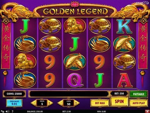 Play and Enjoy Golden Legend Slots Free Right Here