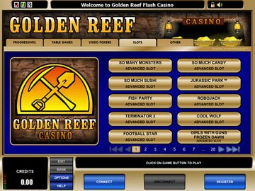 Golden Reef Casino Software Preview