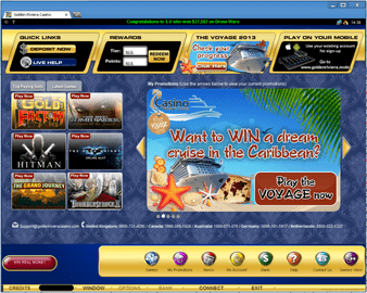 Golden Riviera Casino Software Preview