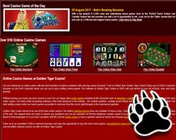 Golden tiger casino no deposit bonus code