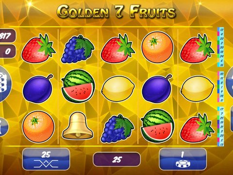 Golden7Fruits Game Preview