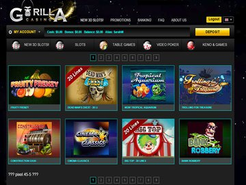 Gorilla Casino Software Preview